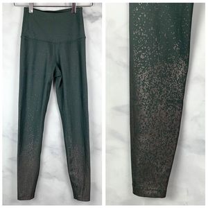 Beyond Yoga Alloy Sage Metallic Ombre 7/8 Leggings
